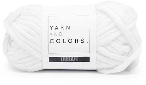 Yarn and Colors Urban 001 White