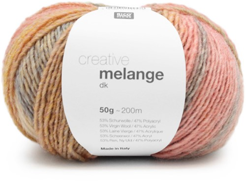 Rico Creative Melange DK 01 Pastel Mix