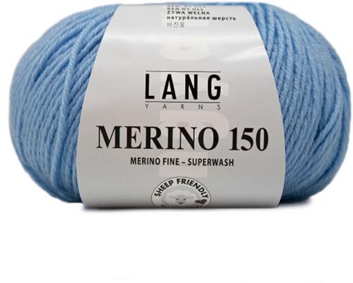Lang Yarns Merino 150 020 Light Blue