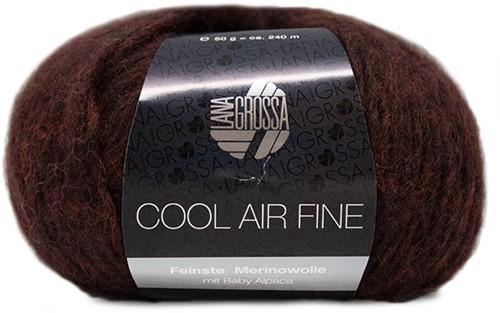 Lana Grossa Cool Air Fine 20 Black-Brown