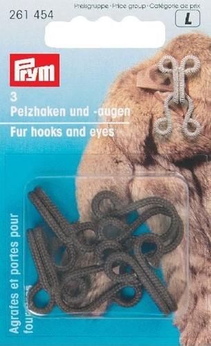 Prym Fur Hooks and Eyes