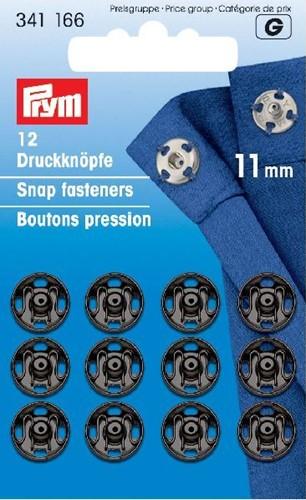 Prym Snap Fasteners black 11mm