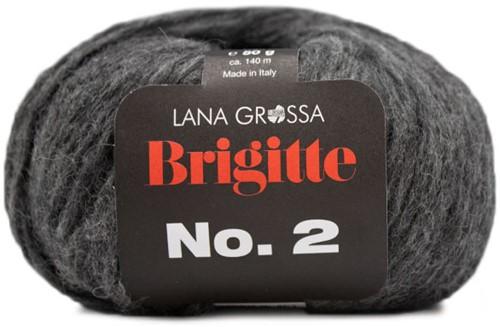 Lana Grossa Brigitte No.2 024 Anthracite