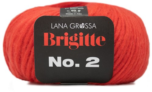 Lana Grossa Brigitte No.2 025 Coral