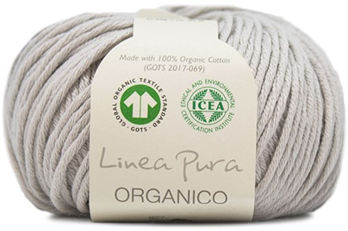 Lana Grossa Organico Uni 029 Light Grey