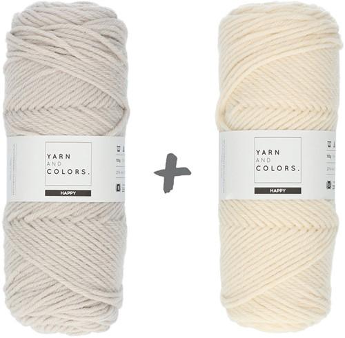 Reversible Dream Blanket 3.0 CAL Crochet Kit 2 Birch (Accent Colour)