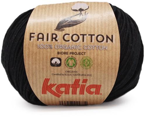 Katia Fair Cotton 02 Black