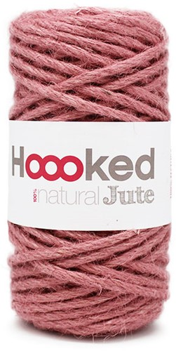 Hoooked Natural Jute 02 Tea Rose
