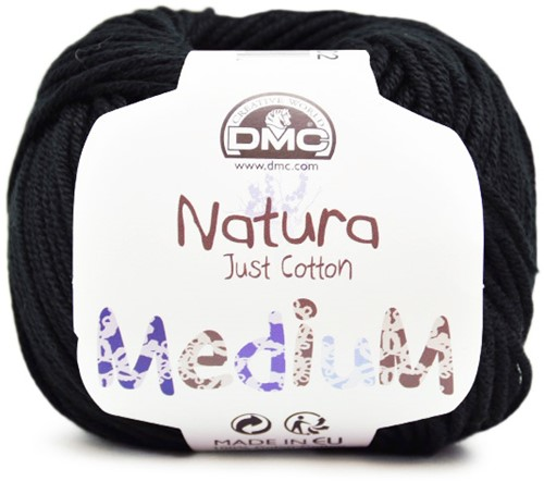 DMC Natura Medium 02 Noir