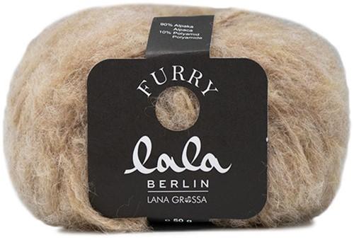 Lana Grossa Lala Berlin Furry 002 Beige