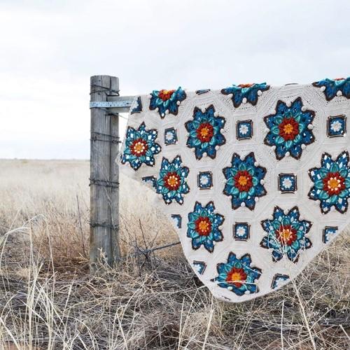 Floral Dreams Blanket CAL Yarn Kit 2