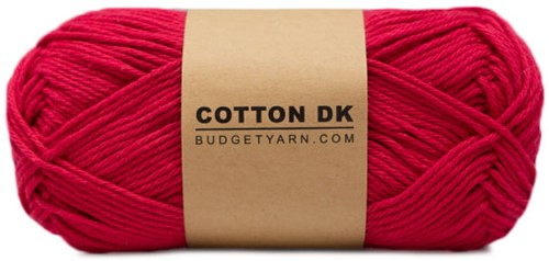 Budgetyarn Cotton DK 033 Raspberry