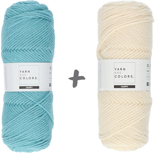 Dream Blanket 4.0 KAL Knitting Kit 3 Glass & Cream