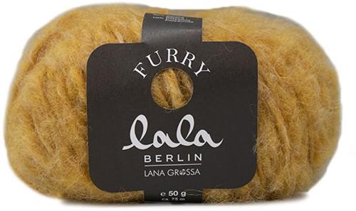 Lana Grossa Lala Berlin Furry 003 Yellow