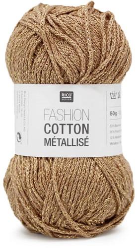 Rico Fashion Cotton Métallisé 3 Gold