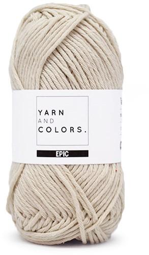 Yarn and Colors Epic 003 Ecru