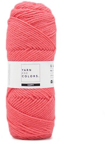 Yarn and Colors Maxi Cardigan Crochet Kit 5 L/XL Pink Sand