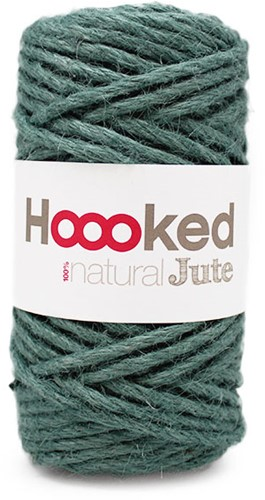 Hoooked Natural Jute 04 Lush Petrol