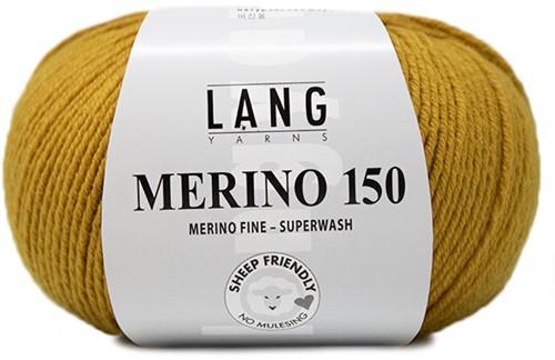 Lang Yarns Merino 150 050 Gold