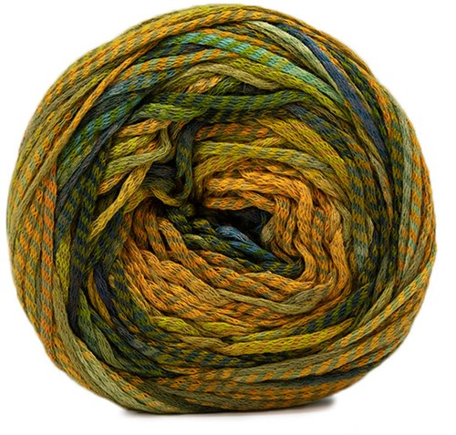 Lang Yarns Camille 051 Gold/blue/olive