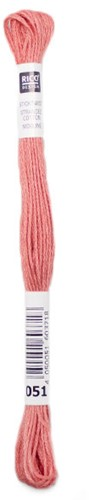 Rico Sticktwist Embroidery Floss 8m 051 Coral