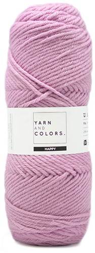 Yarn and Colors Maxi Cardigan Crochet Kit 7 S/M Orchid