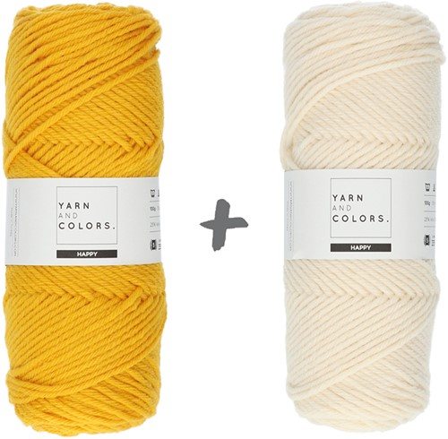 Reversible Dream Blanket 3.0 CAL Crochet Kit 5 Mustard (Accent Colour)