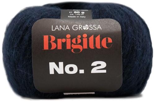 Lana Grossa Brigitte No.2 005 Night Blue