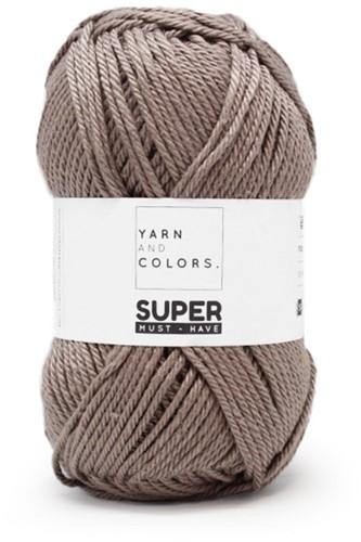 Yarn and Colors Leaf Cushion Crochet Kit 4 Clay