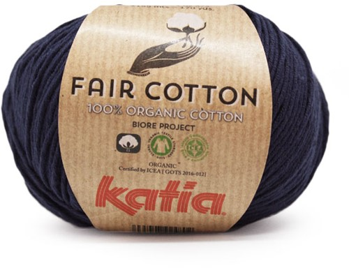 Katia Fair Cotton 05 Dark blue