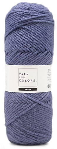 Yarn and Colors Maxi Cardigan Crochet Kit 8 L/XL Denim
