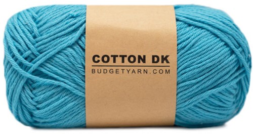 Budgetyarn Cotton DK 064 Nordic Blue