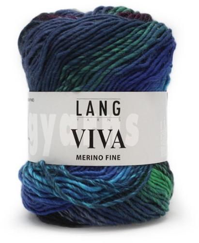 Lang Yarns Viva 6 Blue