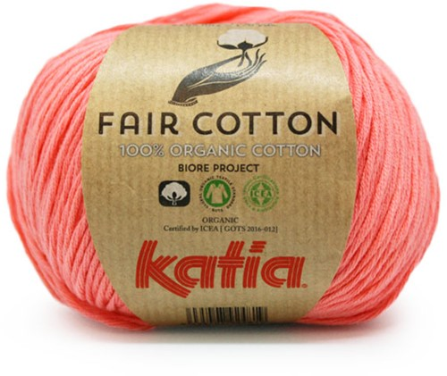 Katia Fair Cotton 06 Coral