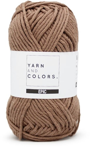 Yarn and Colors Basket Weave Comfy Cushion Crochet Kit 006 Taupe