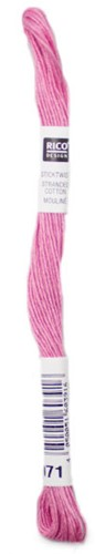 Rico Sticktwist Embroidery Floss 8m 071 Berry red