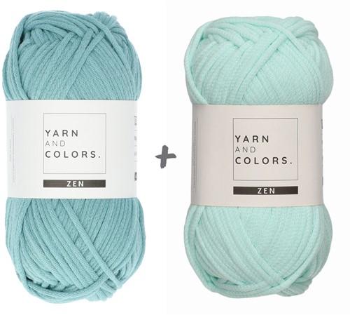 Yarn and Colors Basic Blanket Crochet Kit 072 Glass