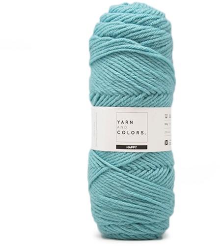 Yarn and Colors Maxi Cardigan Crochet Kit 9 L/XL Glass