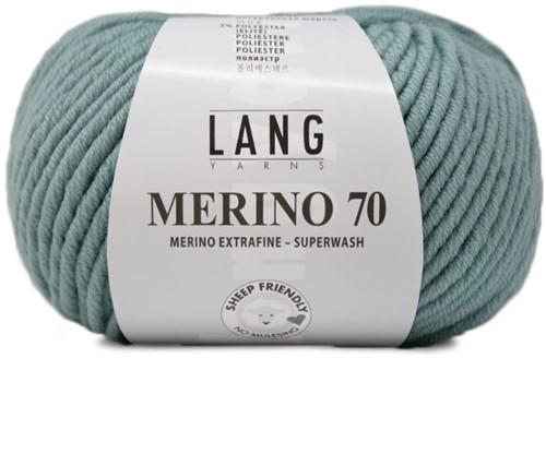 Lang Yarns Merino 70 072 Dark Mint