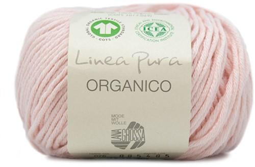Lana Grossa Organico Uni 076 Soft Pink