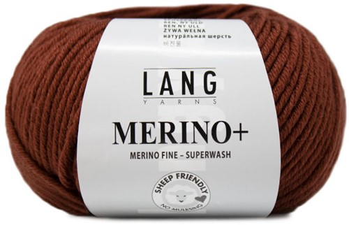 Lang Yarns Merino+ 076 Cognac