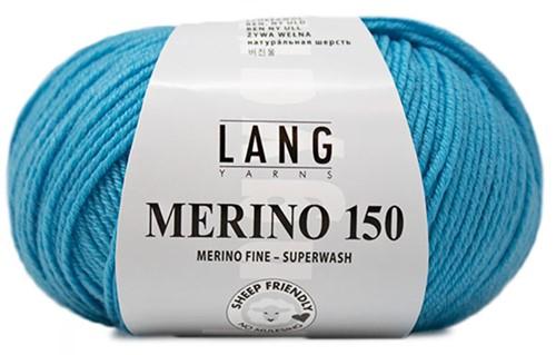 Lang Yarns Merino 150 079 Turquoise
