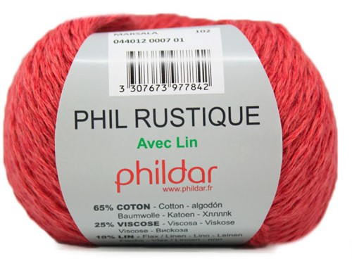 Phildar Phil Rustique 7 Marsala