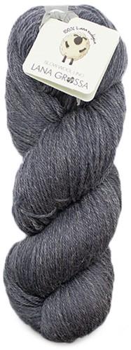 Lana Grossa Slow Wool Lino 007 Dark Grey