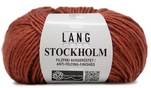 Lang Yarns Stockholm 87 Brick