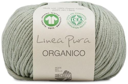Lana Grossa Organico Uni 089 Cane Green