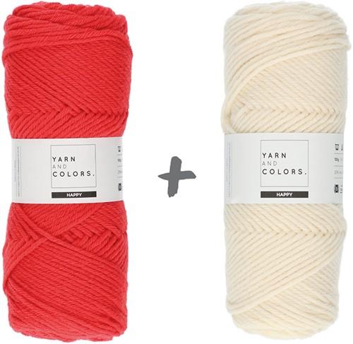 Dream Roll Cushion 4.0 Crochet Kit 08 Pepper & Cream