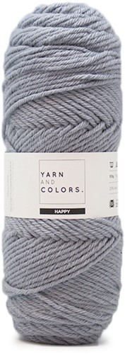 Yarn and Colors Maxi Cardigan Crochet Kit 12 L/XL Shark Grey