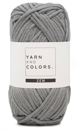 Yarn and Colors Tank Top Knitting Kit 3 Shark Grey S