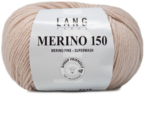 Lang Yarns Merino 150 096 Sand